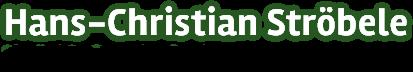 Hans-Christian Str�bele