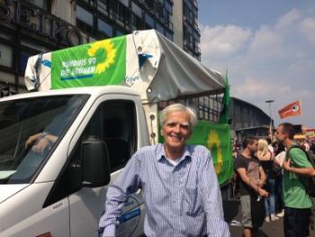 Hans-Christian auf der Hanfparade