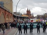 Demonstrieren ist ein Grundrecht. Hier z.B. gegen hohe Mieten in Berlin.