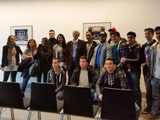Schülerinnen und Schüler aus der Hermann-Hesse-Schule zu Besuch im Bundestag