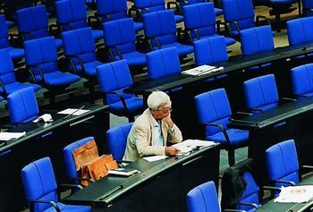 Die Tätigkeit als Mitglied im Bundestag