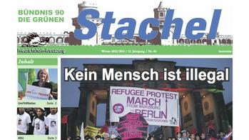 Die Kiezzeitung Stachel Nr. 44 ist da!