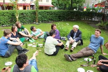 Warten auf das Ergebnis des Grünen Mitgliederentscheids