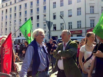 Anti-NPD Kundgebung am 13. Juli am Moritzplatz