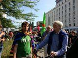 Proteste gegen NPD-Hetze in Berlin