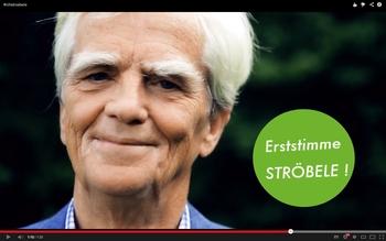 Bundestagswahl 2013: Erstimme Ströbele!