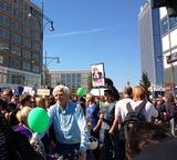 """Demo """"Freiheit statt Angst"""""""