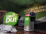 Grüner Wahlkampfhöhepunkt