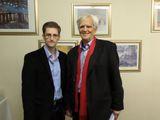 Ströbele traf Snowden in Moskau | Ströbele met Snowden in Moscow