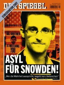 Schutz für Aufklärer Snowden: Unser aller Anliegen!