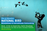 National Bird - Whistleblower und der internationale Drohnenkrieg -  Film & Diskussion