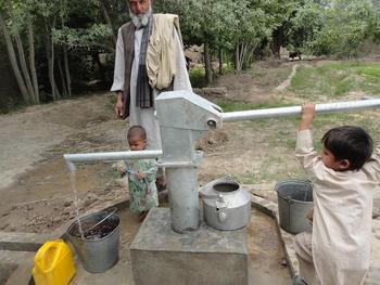 Brunnen in Afghanistan