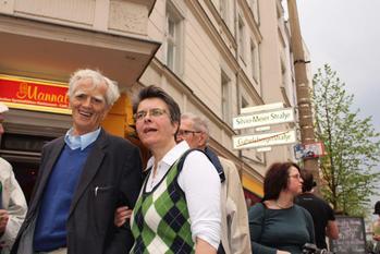 Einweihung Silvio Meier Straße