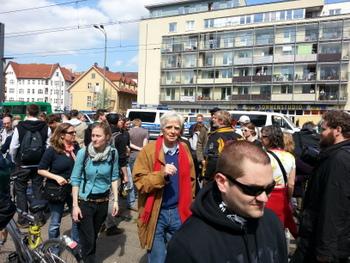 1. Mai nazifrei in Berlin Schöneweide