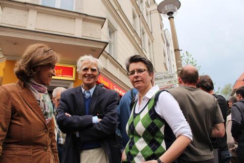 Einweihung der Silvio Meier Straße